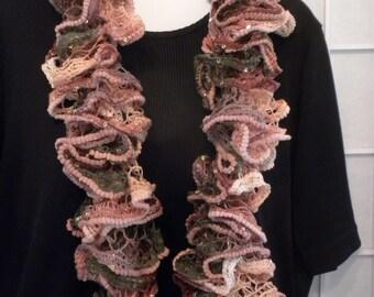 Ruffled Fashion Scarf
