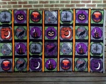 Spooky Raven Halloween Quilt