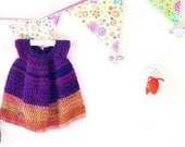 Frank&Olive Two-Tone Toddler Dress PATTERN - Various Sizes