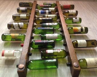 Tuscan Wine Rack 12 Bottle Ladders - Set of 3