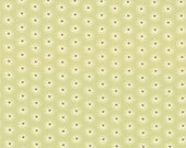 Mirabelle - Breeze Mini Daisies Aqua Green - Cotton Print fabric by Fig Tree Co from Moda