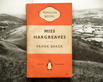 Orange penguin paperback Miss Hargreaves by Frank Baker