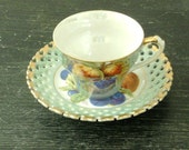 Royal Halsey Tea Cup and Saucer Set