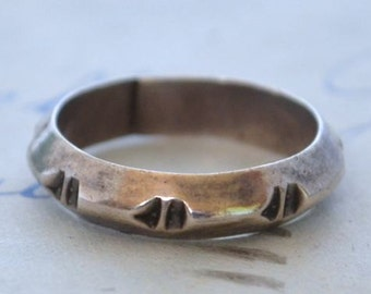 Vintage Native American Ring  - Size 7.25