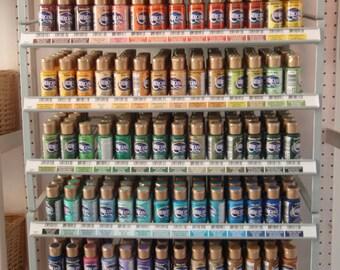 SALE 10 Bottles Acrylic Paint Premium Quality DecoArt Americana