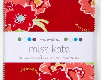 Miss Kate charm pack by Bonnie and Camille for Moda fabric