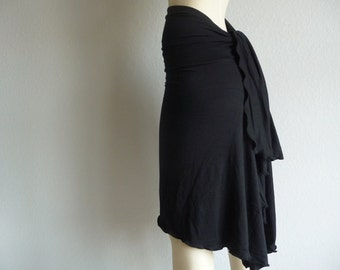 Sizes 0 - 14  Tango & Salsa Skirt asymmetric  Skirt / With Tail Sizes black or white