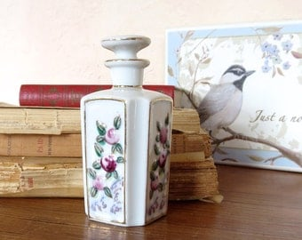 Irice Perfume Bottle Porcelain Occupied Japan