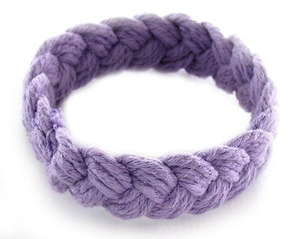 Purple Sailor Friendship Bracelet
