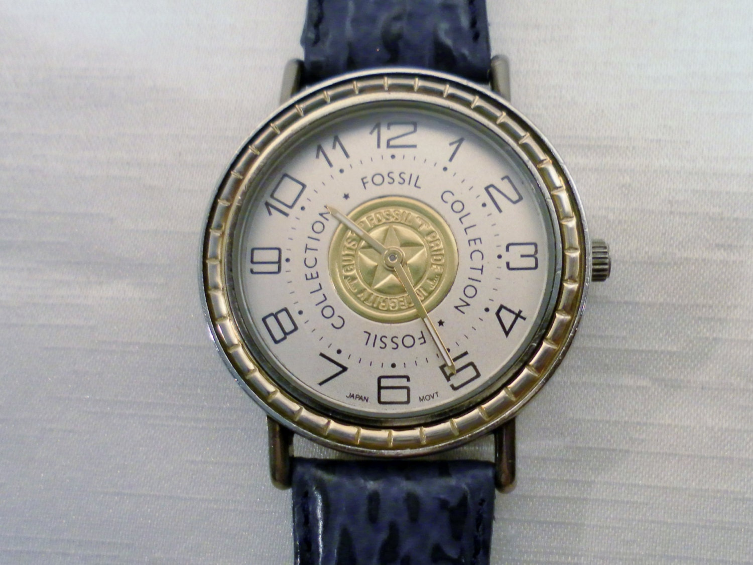 vintage late 1980s fossil collection overseas products