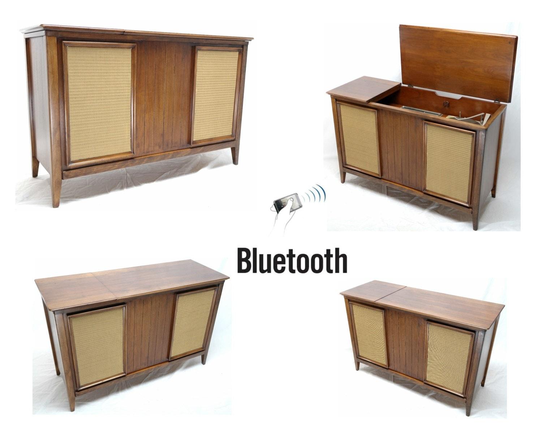 Vintage Mid Century Modern Zenith Hi Fi Console Stereo