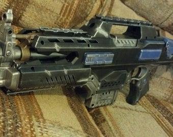 Space Marine Rifle Nerf Laser-illuminated fire-arm