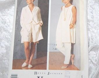 Vintage  Designer Betty Jackson Vogue Original Pattern 2710 -  Unused -  Size 6-8-10