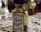 Money Magnet oil - Money draw - Prosperity spells - Hoodoo - Folk magic - Witchcraft - Pagan - Spiritual - Wicca