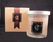 NEW JERSEY - Boardwalk (Sea Salt) Caramel candle, 8 oz, optional gift box