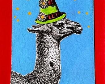 Magnet: Party Llama