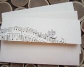10 envelope / musical note
