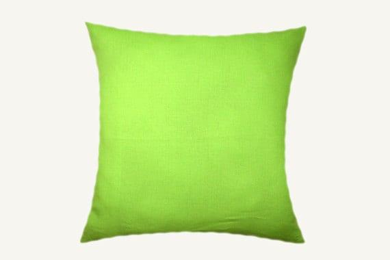 Yellow Green Decorative Pillows : Decorative Pillow Case Green-Yellow color Decorative fabric