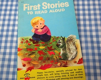 stories to read aloud, vintage 1959 children's book