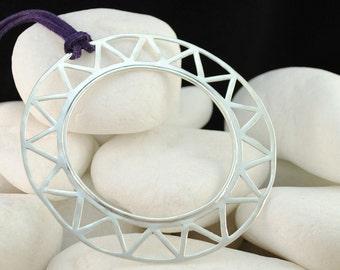 Solid Sterling Silver Bracelet & Pendant