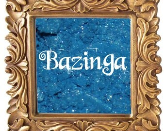 Bazinga 3g Pigmented Mineral Eye Shadow Jar with Sifter