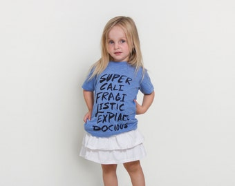 Supercalifragilistic | Mary Poppins Kids Tee