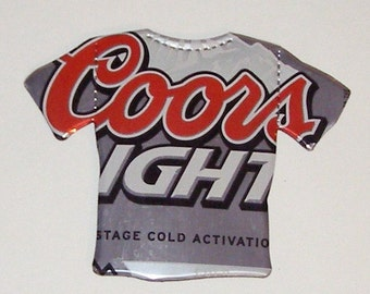 T-Shirt Magnet - Coors Light Beer Can