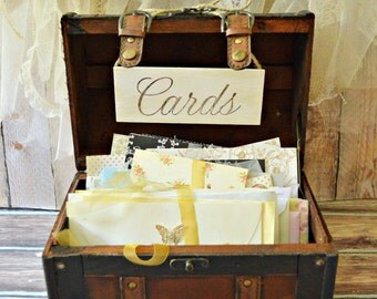 Wedding Card Box-Wedding Card Holder-Wedding Card Trunk-Wedding Card Box- Trunk