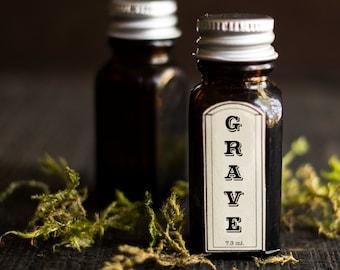 Grave Perfume Oil ™ - Cedar, Patchouli, Amber, Clove, Bergamot, Rose, Pine