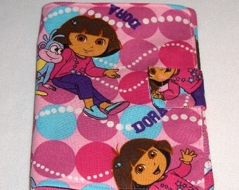 Dora the Explorer Doodle Wallet/Crayon Wallet - Great for stocking stuffer, Christmas, birthday, party favor and more!