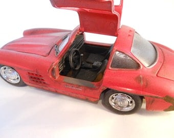 Classicwrecks Rusted Wreck Scale Model Mercedes Gullwing