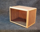 Professional Quality Mini Roombox / Display Case-- Assembled, ready to decorate