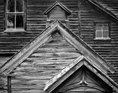 Colorado, historic mining town, black and white photograph, framed photograph - Cabin Study
