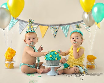 Twin cake smash set