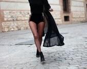 Viviane high waist retro style velvet tap pants hot pants shorts