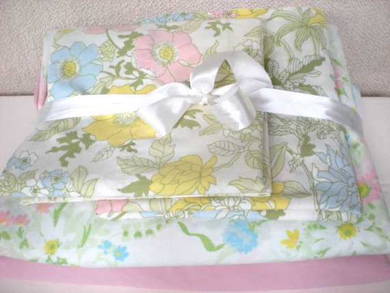 Full Sheets Percale Set Of Double Remixed Sheets Pink