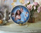 Royal Family Dollhouse Plate