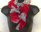 Ohio State Buckeyes Crocheted Scarf