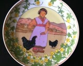 UNICEF Our Children No. 2 Tibet plate 1988