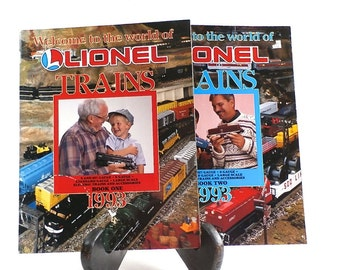 Vintage Lionel Electric Trains - Vintage Catalog - Reference - Vintage Toy Trains - Railroad