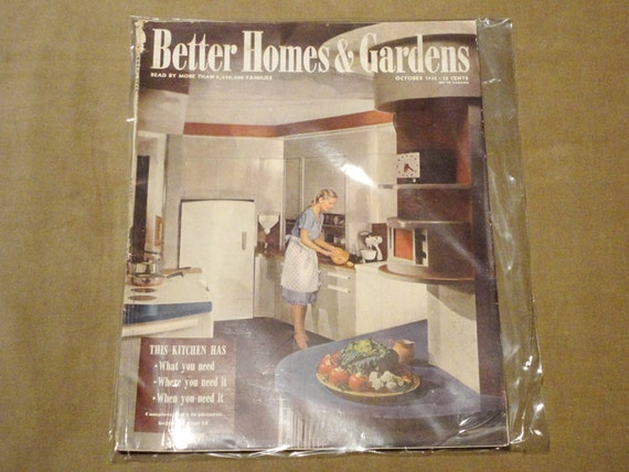 Complete Magazine October 1945 Better Homes And Gardens