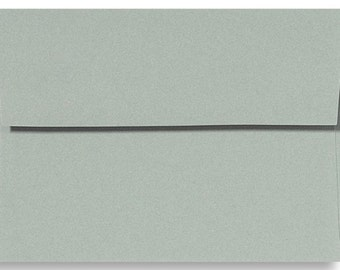 "12 Slate Gray A6 Envelopes 4 3/4"" x 6 1/2"""