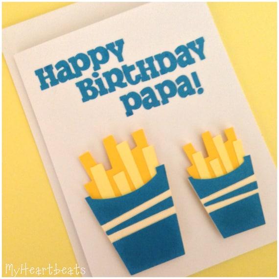 Items Similar To Happy Birthday, Papa! Greeting Card On Etsy