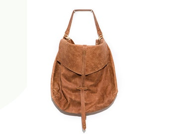 Oversized Soft Leather Desinger Bag, Large Camel Brown Leather Hobo Bag, Leather Handbag with Adjustable Straps, Everyday Fashion Accessory