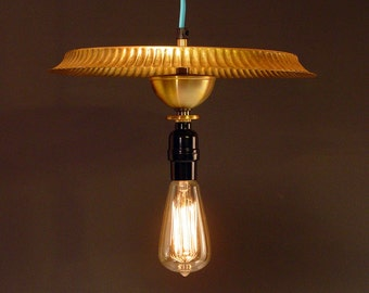 Half price sale! Hanging lamp solid brass edison bulb