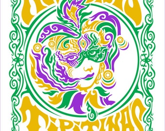 """The Revivalists TIPITINA'S 19x25"""" Signed & Numbered AE Screen Print"""