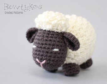 Argo the Amigurumi Sheep CROCHET PATTERN instant download - lamb