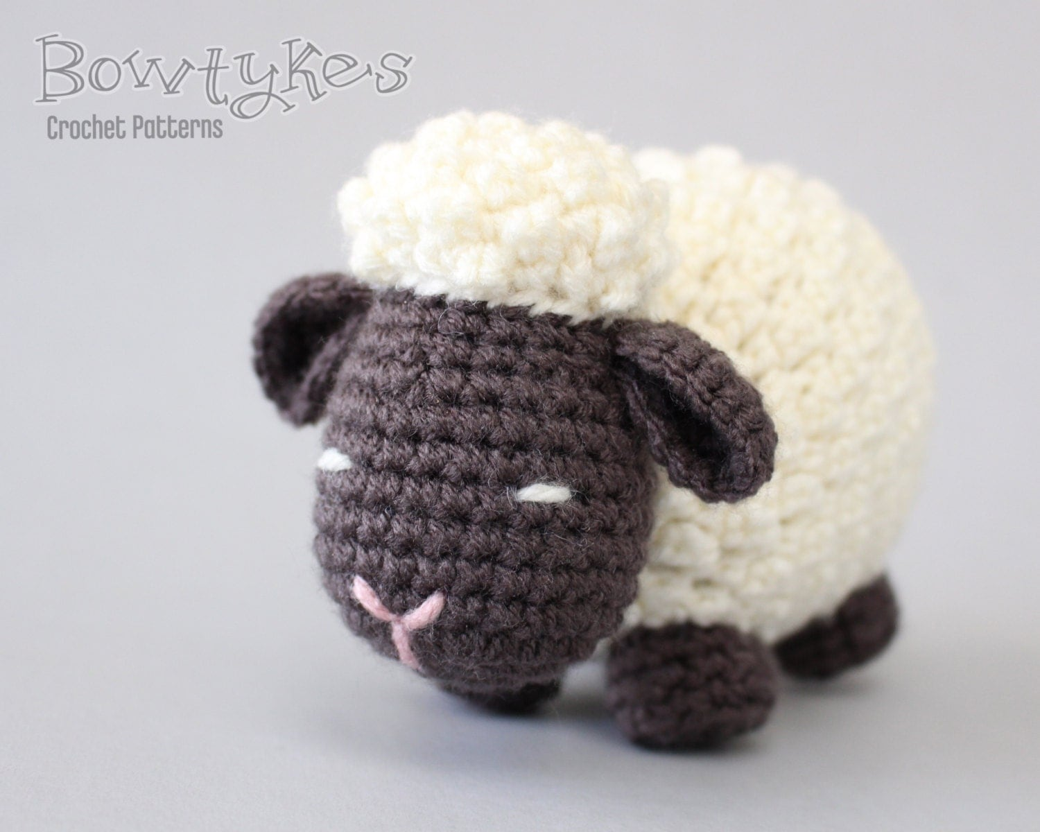 Mario Amigurumi Free Pattern : Argo the Amigurumi Sheep CROCHET PATTERN instant download