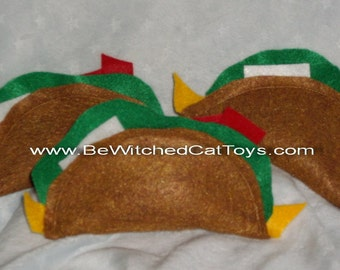 Organic Catnip Taco Cat Toy