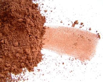 Mineral Makeup - Dark Brown Matte Eyeshadow - Dark Brown  Eyeliner - Vegan Friendly Makeup